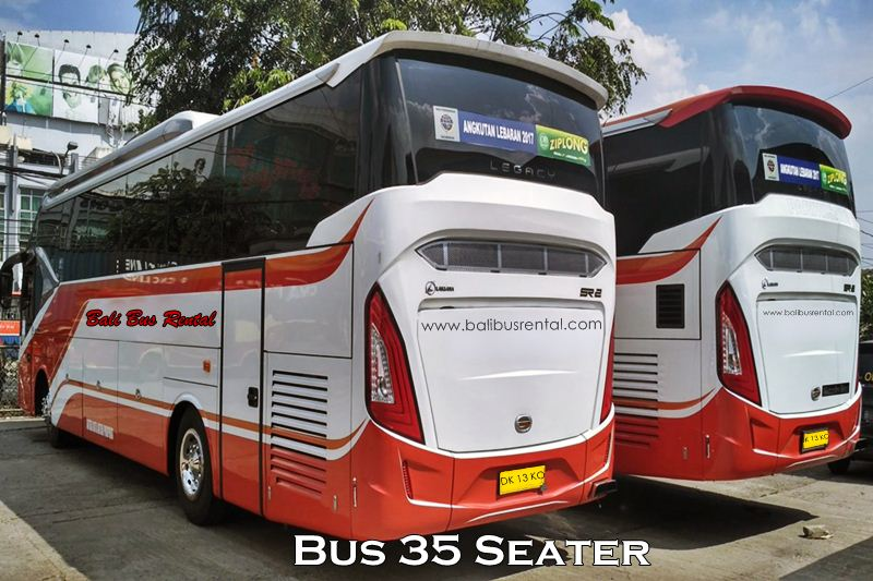 Hire and Charter Bus 35 Seats Bali