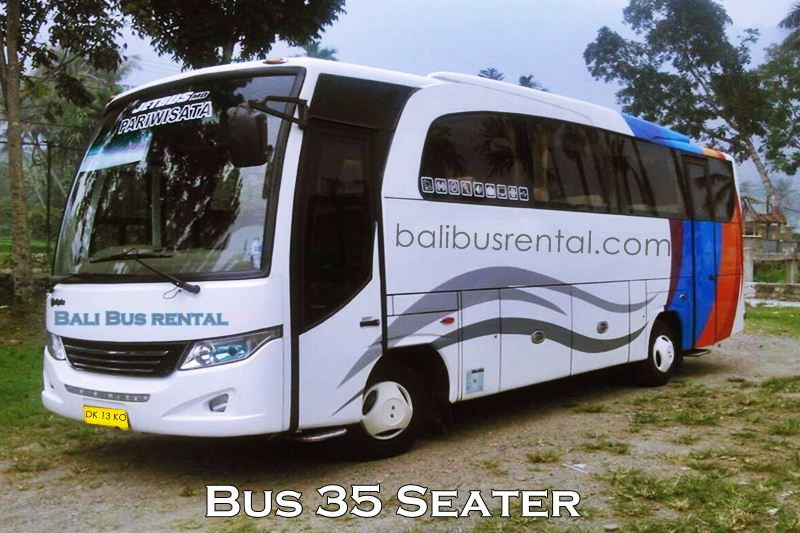 Hire Bus 35 Seats in Bali