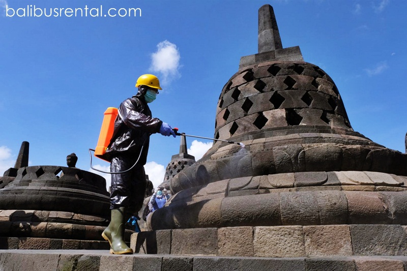 Rapid Antigen to Borobudur Temple, during the Christmas and New Year holidays to prevent the spread of COVID-19