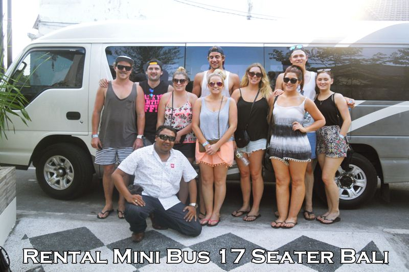 Charter Mini Bus 17 Seats Australia in Bali