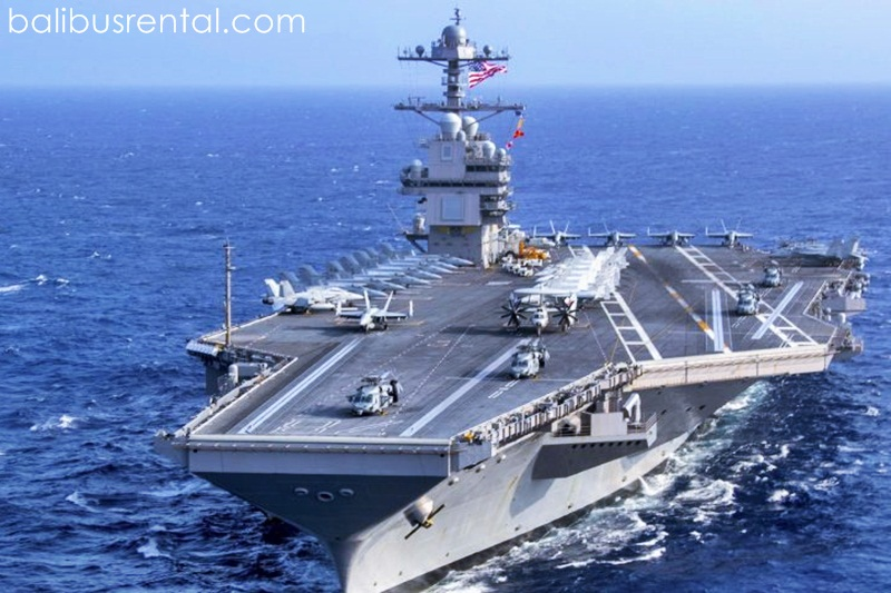 US Navy says carrier group operating in South China Sea